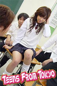 teens from tokyo japanese schoolgirls
