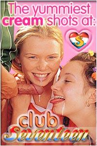 Blue Angel Masturbating chick pushing a big dildo into her soaked pussy Club Seventeen Club Seventeen